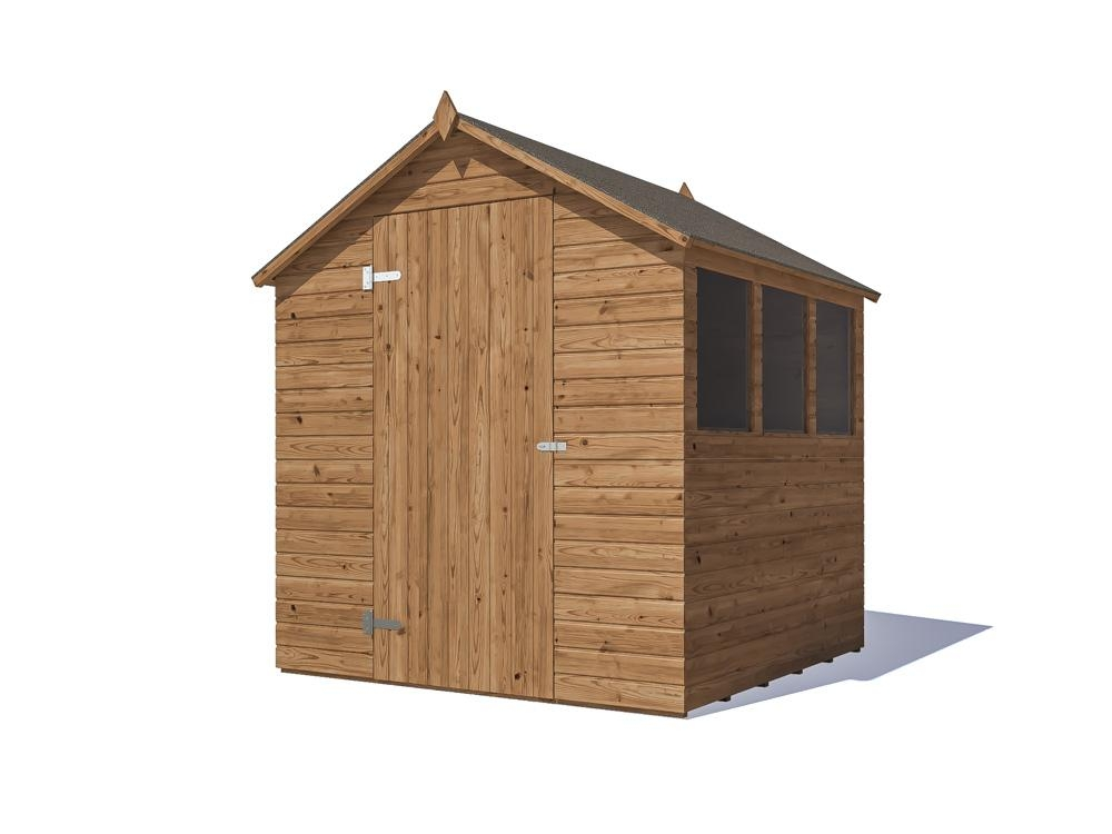 Adam I Pressure Treated Shed