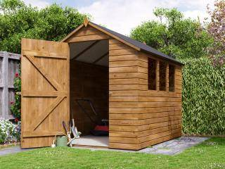 Adam II Pressure Treated Shed