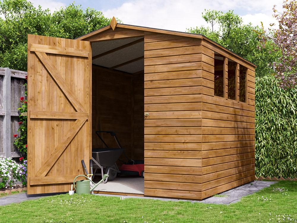 Adam III Pressure Treated Shed W2.3m x D2.44m