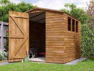 Adam III Pressure Treated Shed