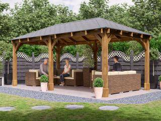 Atlas Open Chunky Gazebo