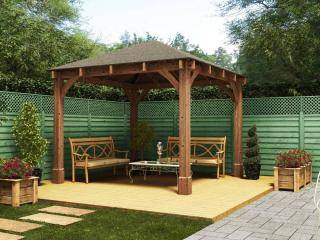 Wooden Gazebos And Garden Structures For Sale Dunster House