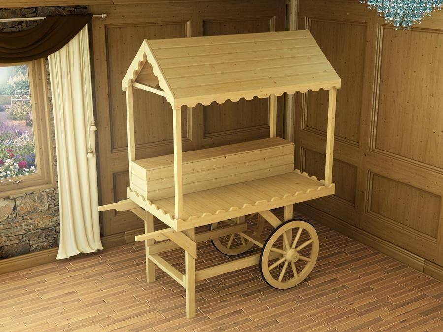 sophie victorian candy cart x garden furniture