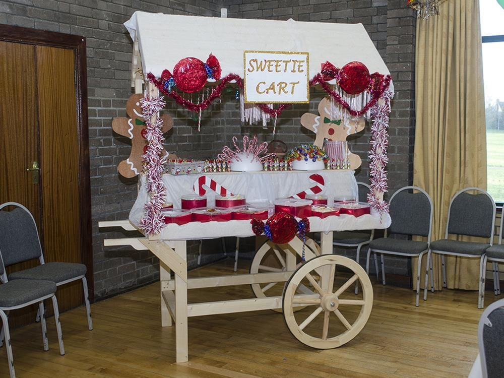 Sophie Victorian Candy Cart W0 9m X D1 8m Garden Furniture