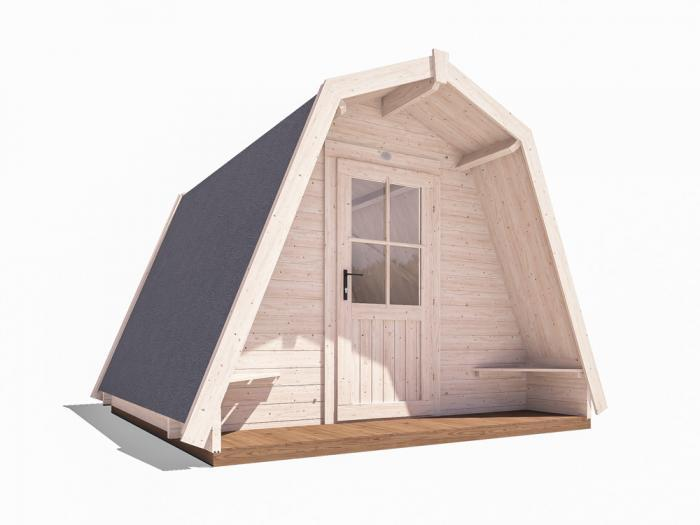 x6 Glamping Pods W3.0m x D3.0m