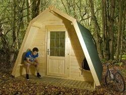 x3 Insulated Glamping Pods W3.0m x D3.0m
