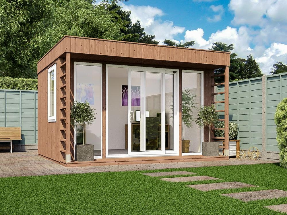 Theodore garden office x garden offices for Garden office and shed