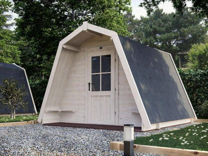x6 Glamping Pods | Outdoor living