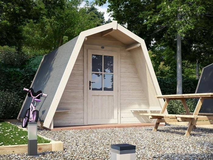 x3 Glamping Pods | Outdoor living