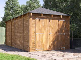 Hercules Single Garage Inc. Barn Doors