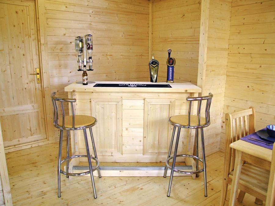 ... Low Top Log Bar ...