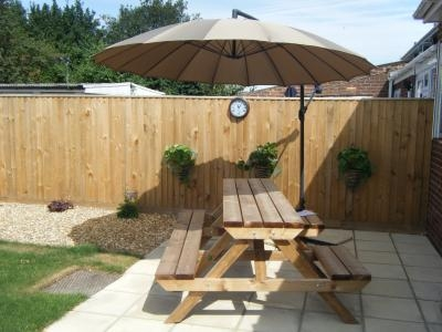 Heavy Duty Picnic Table W1.6m x D2.3m