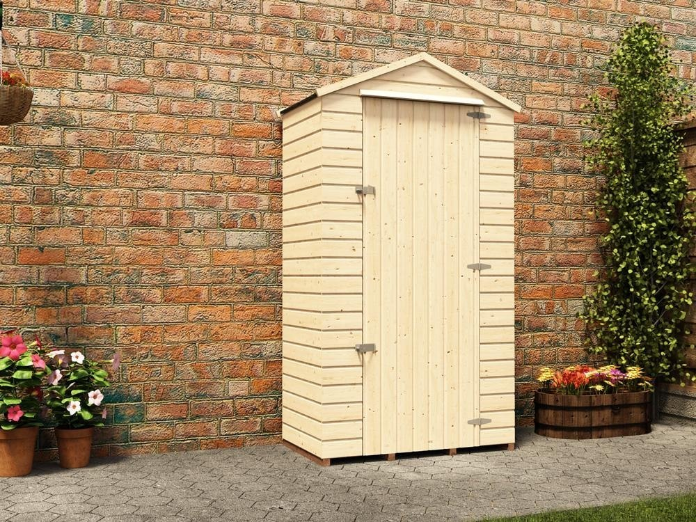Shed sentry box garden small bike shed tools storage cabin for Storage huts for garden