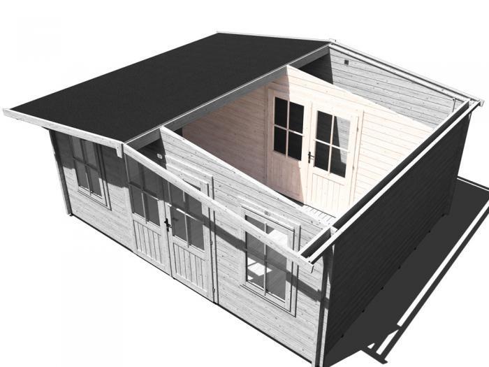 Storage Wall & Double Door | Extras