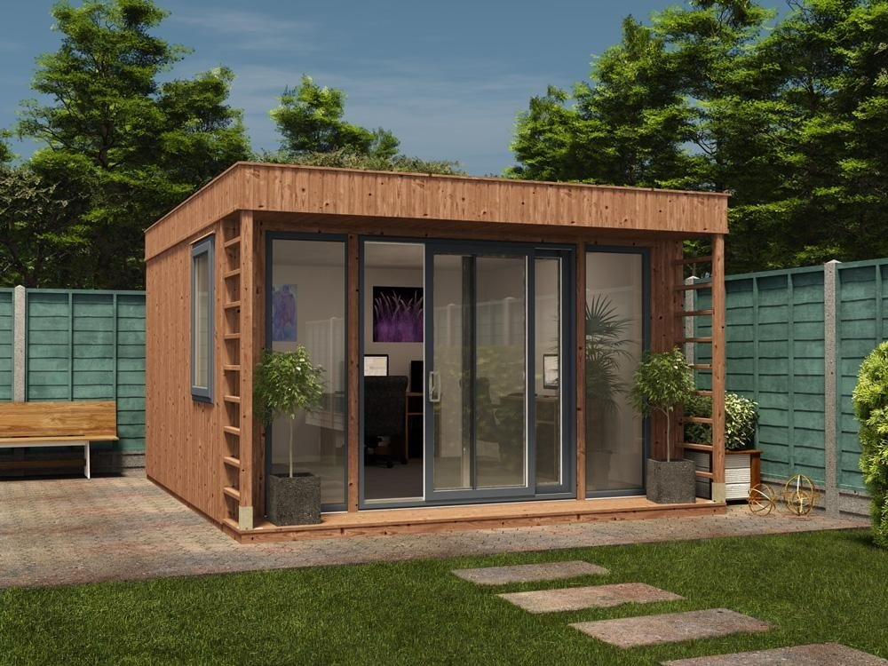 Garden office garden offices tunstall garden buildings for Garden office ideas uk
