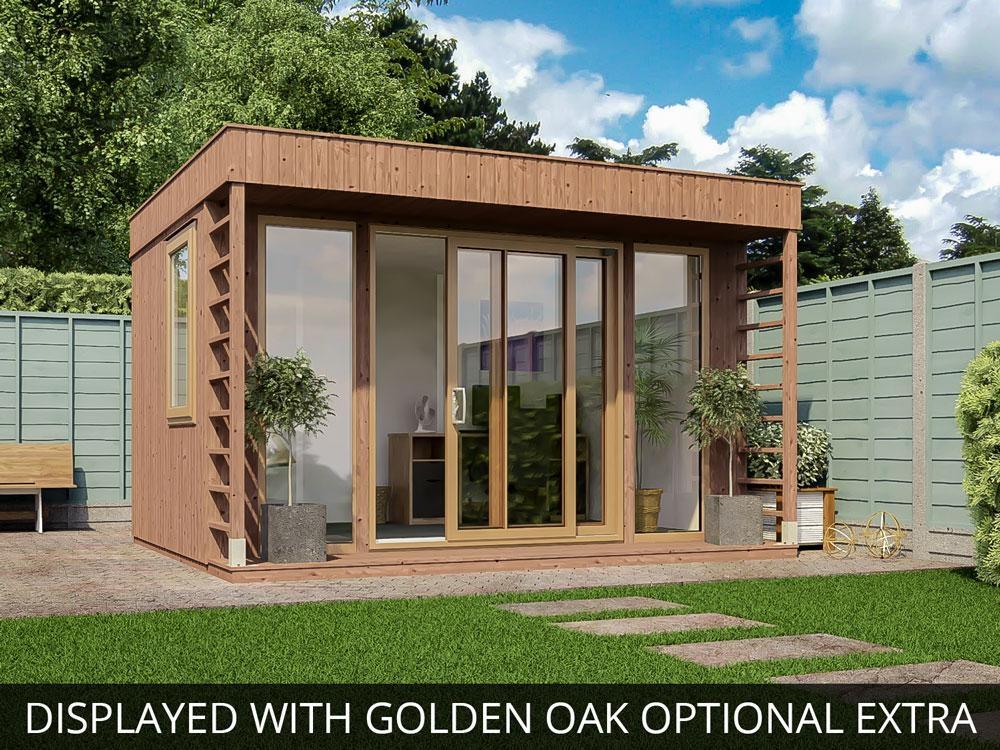 Theodore garden office x garden offices for Oak garden office