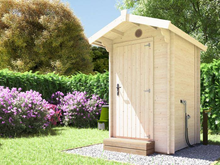 Composting Timber Toilet | Dunster House