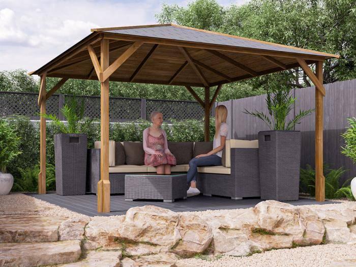 Utopia 300 Gazebo W3.0m x D3.0m | Gazebos | Dunster House
