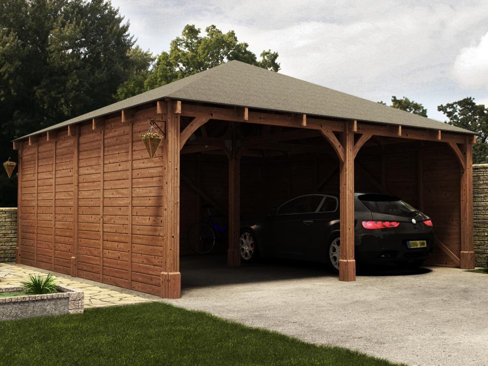 hercules double carport w6 04m x d6 04m garages