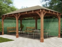 Atlas Open Gazebo W6.0m x D3.2m