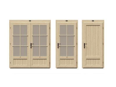 PremiumPlus Doors for 130mm DualTherm Cabins