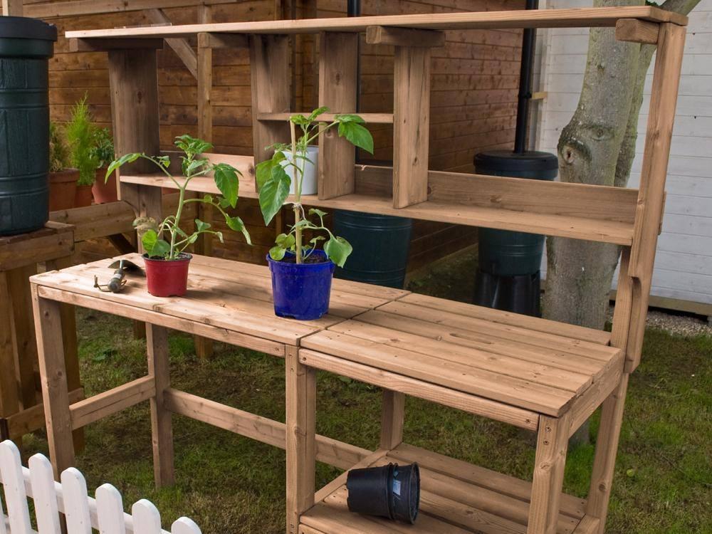 Outdoor Garden Work Benches Innovation Pixelmaricom