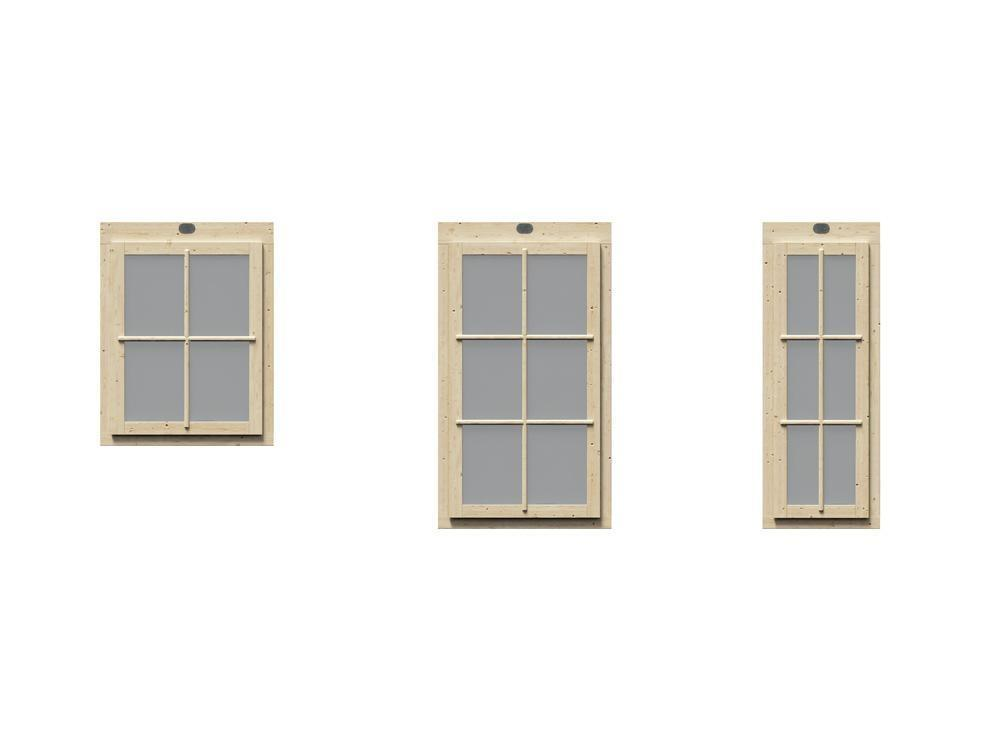 PremiumPlus Windows for 145mm TripleTherm Cabins