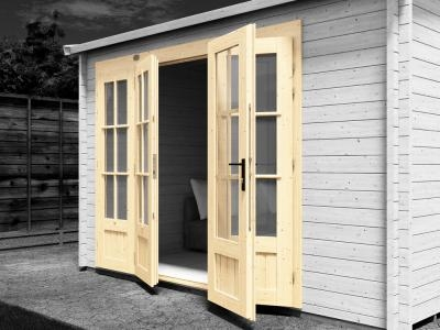 Double Glazed Doors Included  | Extras