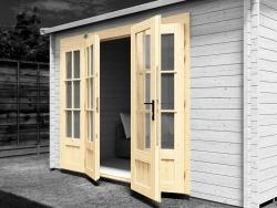 Double Glazed Doors Included