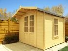 Drew 240 19mm Log Cabin W2.4m x D2.4m