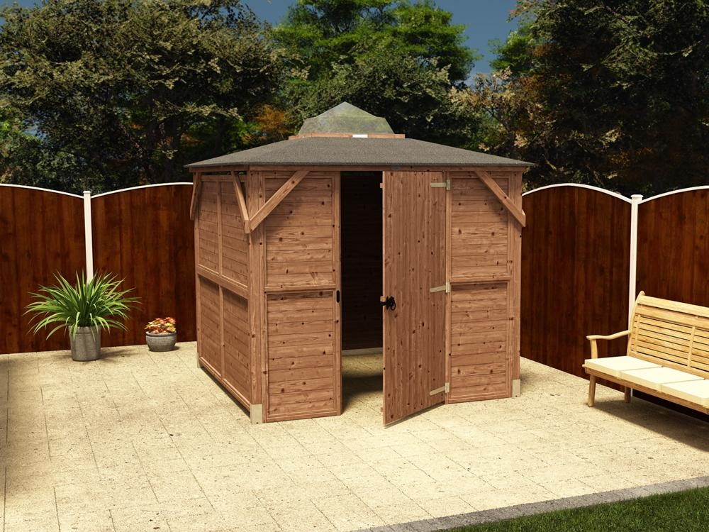 Erin Gazebo - Enclosed Solid Wall Panels