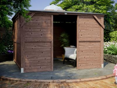 Erin Gazebo - Solid Wall Panels & Front Panel