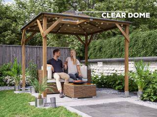 Erin Open Gazebo with Dome