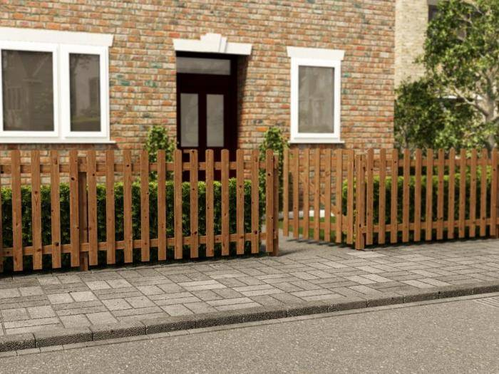 Pennines Full Picket Fence | Fence Systems