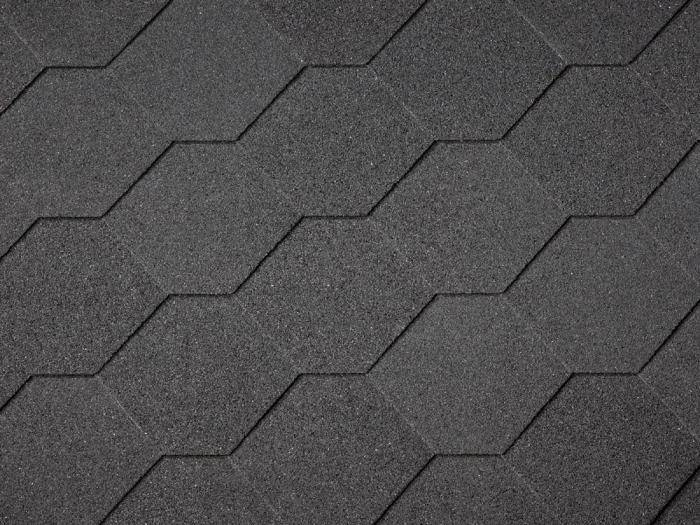 Hexagonal-shingles