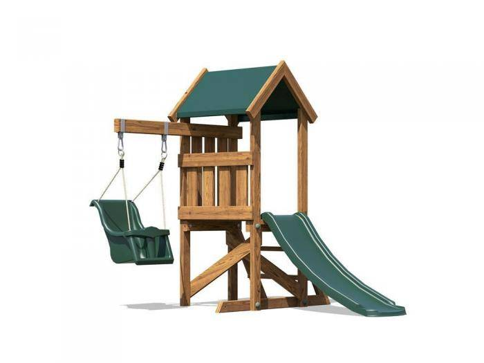 MicroFort W1.4m x D1.8m | Climbing Frame | Dunster House