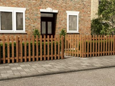 Pennines Full Picket Fence