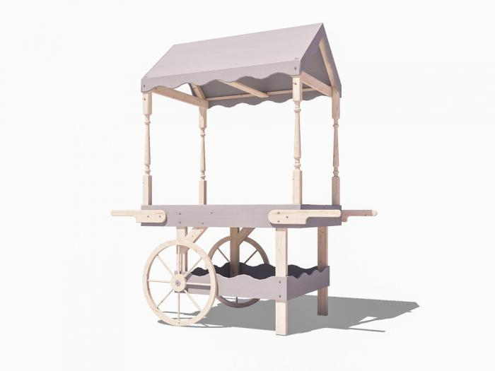 Portobello Static Candy Cart