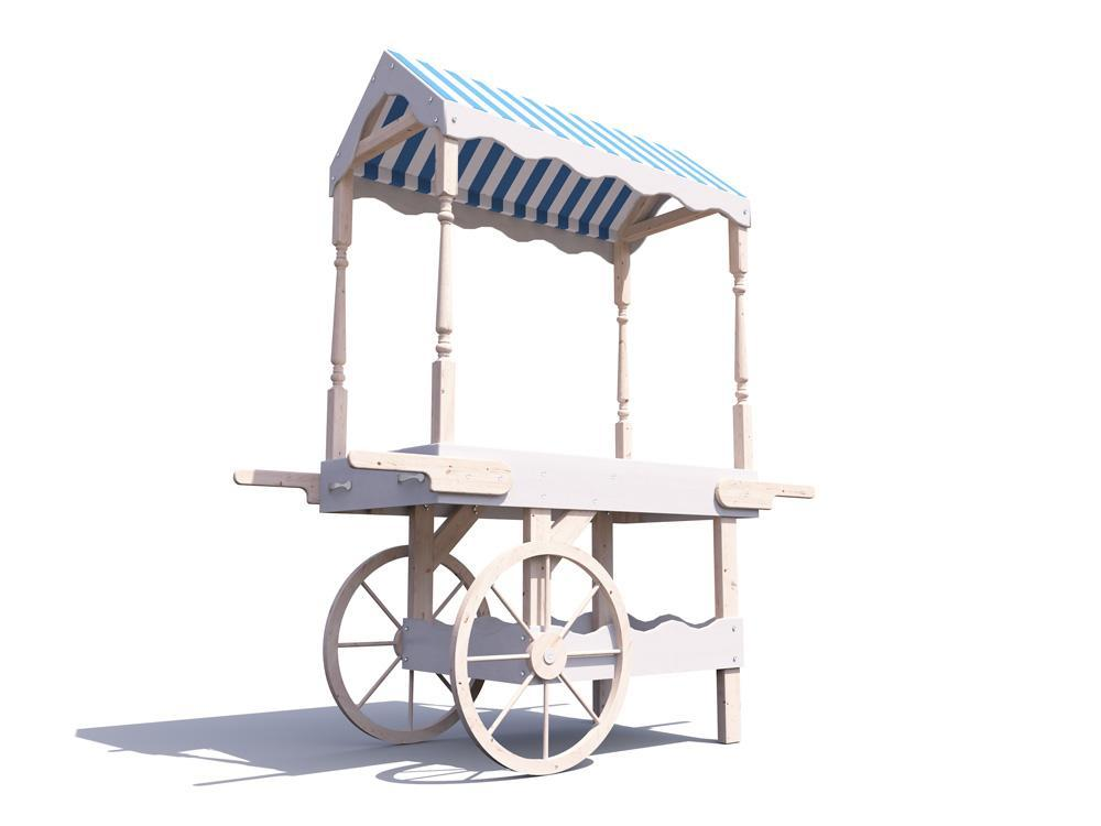 Portobello Collapsible Candy Cart