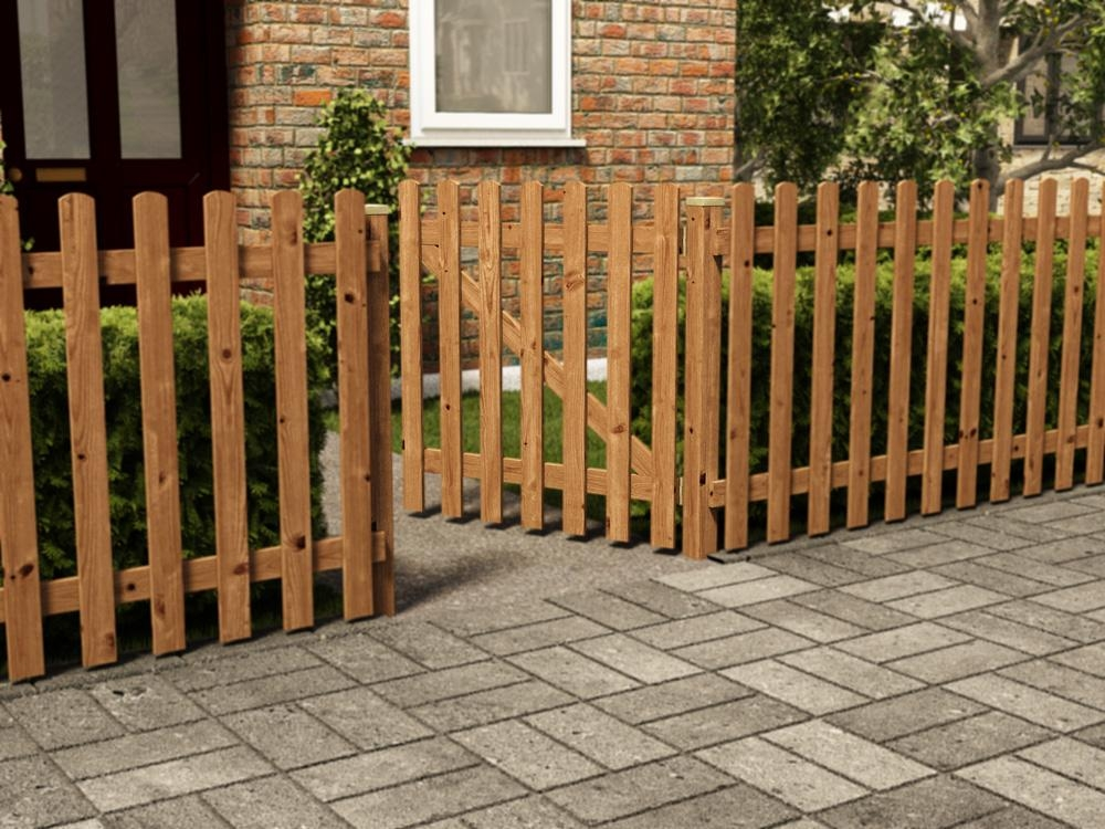 Tall Picket Gate Fence Systems