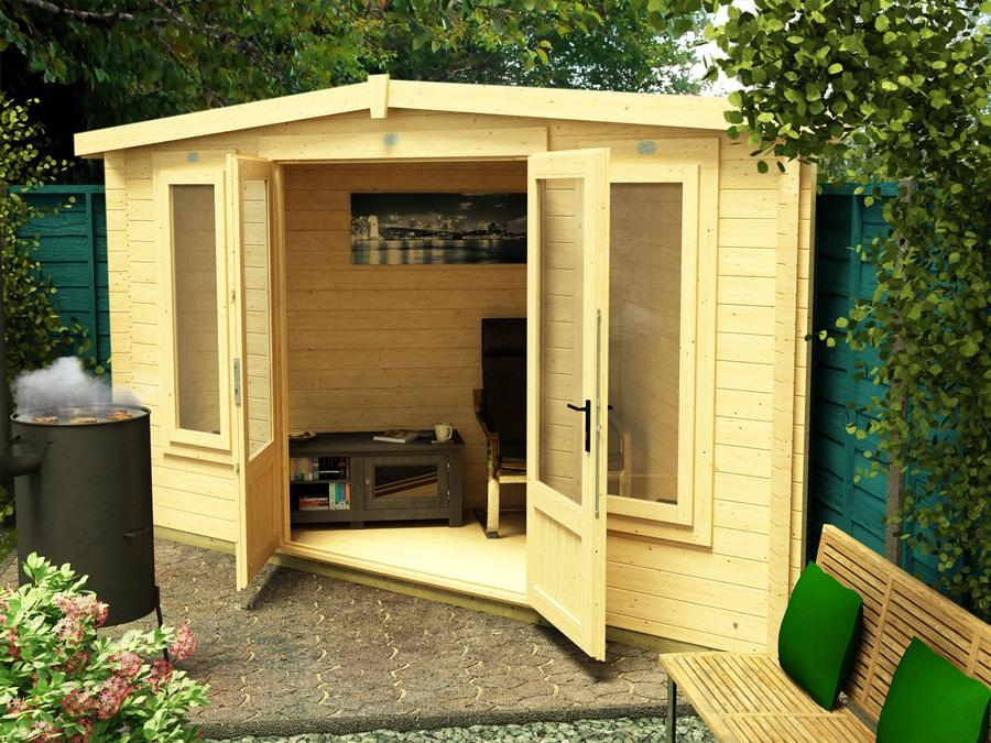 Ex Display Deluxe Triangle Cabin W4 5m X D3 0m