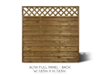 Altai Full Fence Panel