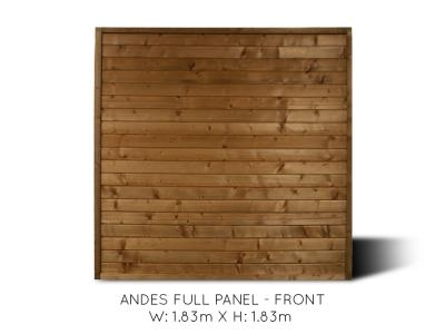Andes Full Fence Panel