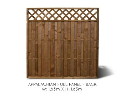 Appalachian Full Fence Panel