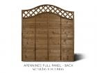 Apennines Full Fence Panel