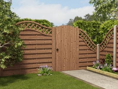 T&G Arched Top Gate