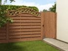 Grooved Arched Top Gate