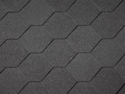 Black Hex Shingles, Nails & Membrane