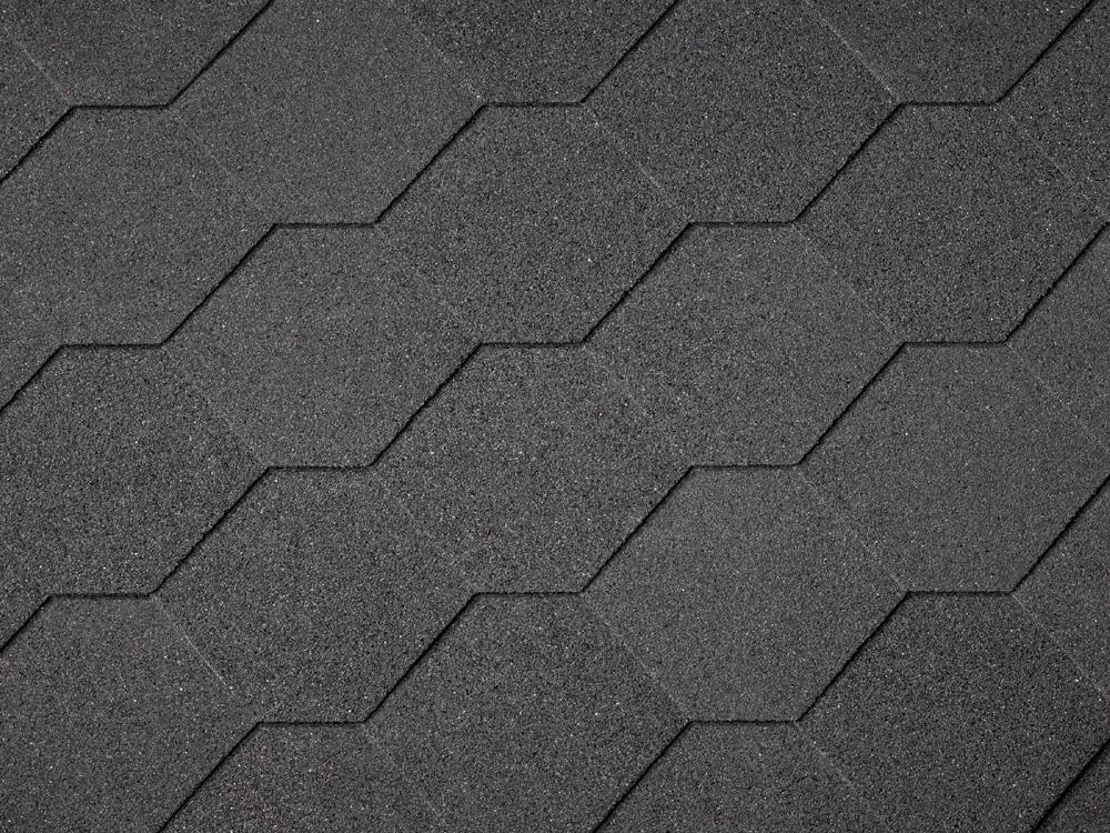 Single Pack Of Hexagonal Roof Shingles
