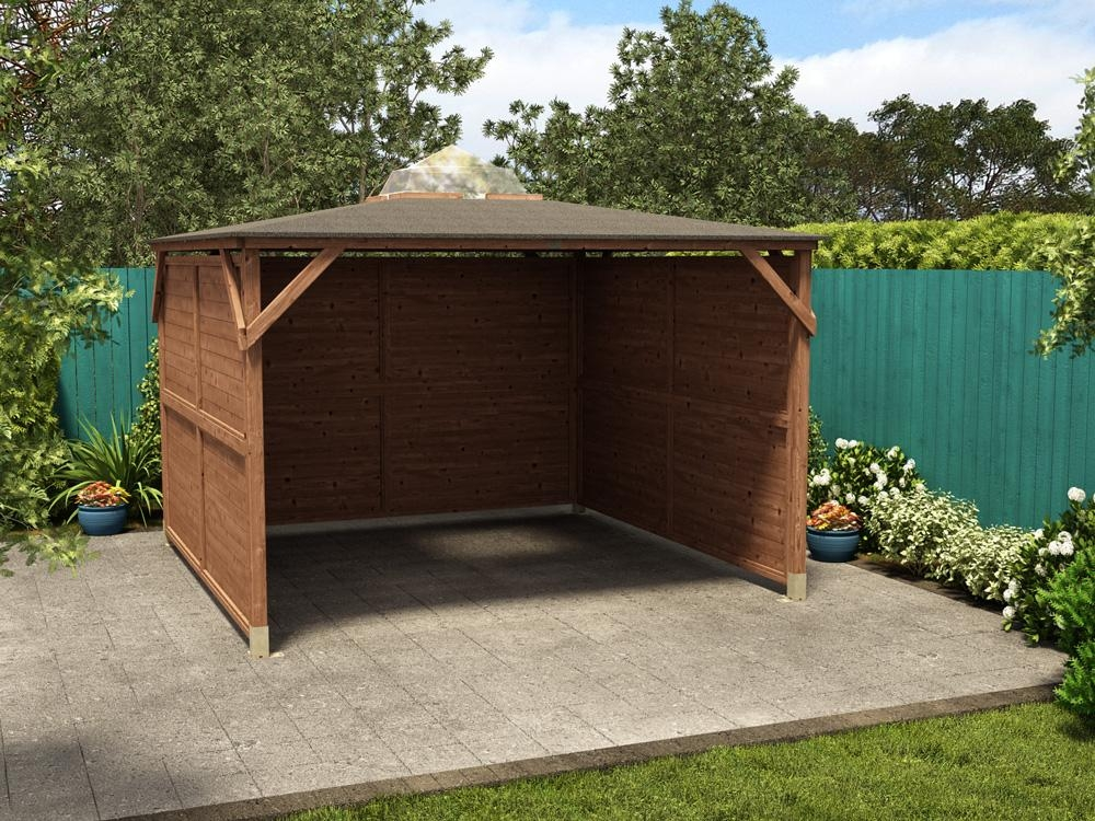 Erin Gazebo Solid Wall Panels Gazebos